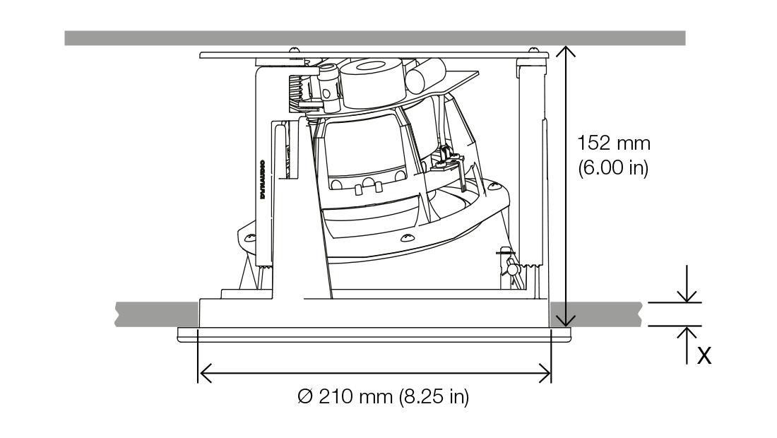 Dynaudio S4 C65 Abmessungen