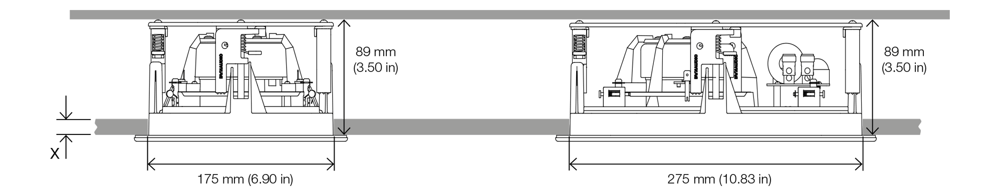 Dynaudio S4 SW65 Abmessungen