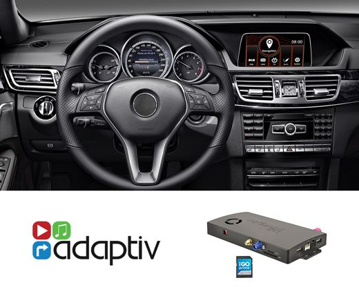 Adaptiv ADV-MB4 Mercedes E-Klasse Navigation