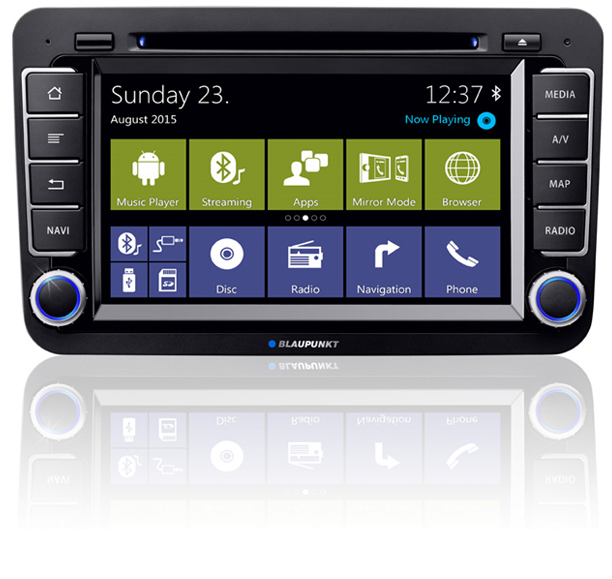 blaupunkt bremen 975 vw navigation carhifi b nde. Black Bedroom Furniture Sets. Home Design Ideas