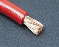 Powerkabel 20mm² rot