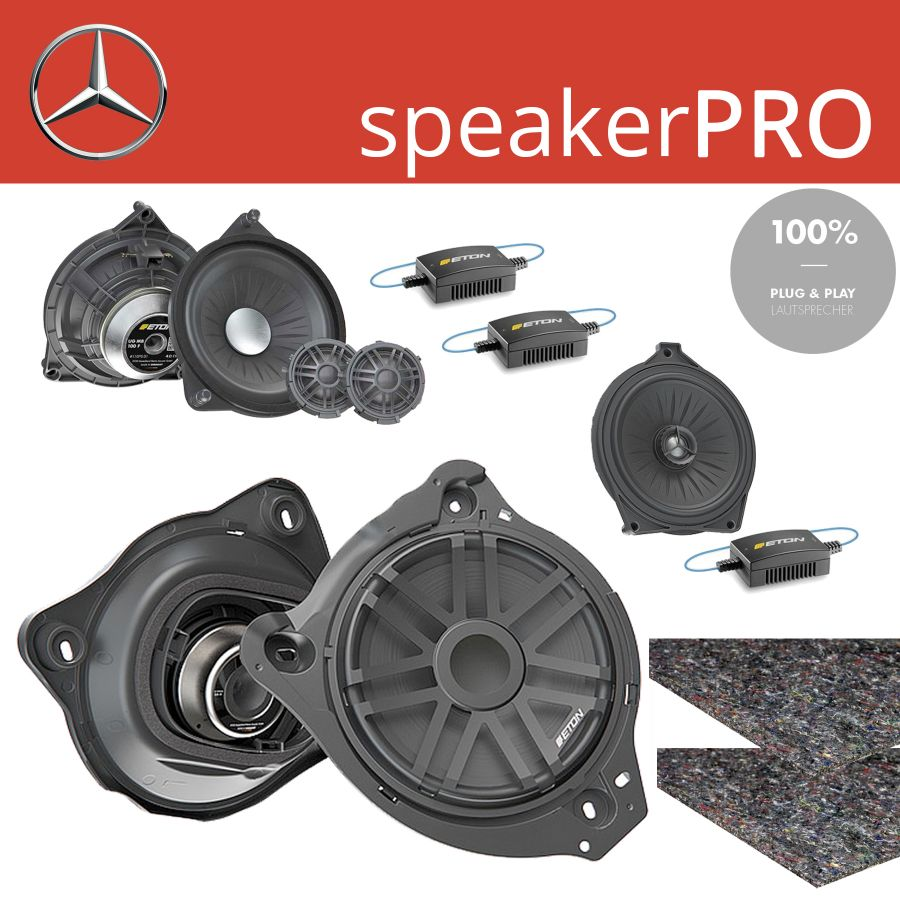 Mercedes Lautsprecher Upgrade speakerPRO