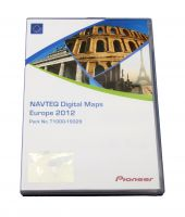 Pioneer NAVTEQ Maps Europa 2012