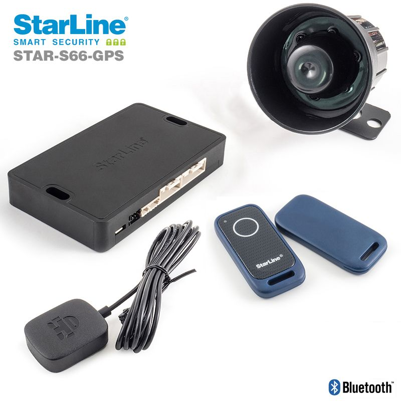Starline CAN-Bus Alarm mit WFS, GSM, 2x TAG, GPS