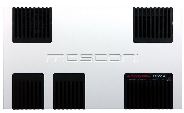 Mosconi AS 100.4 Farbe: silber