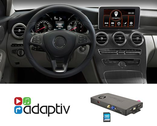 Adaptiv ADV-MB3 Mercedes C-Klasse Navigation