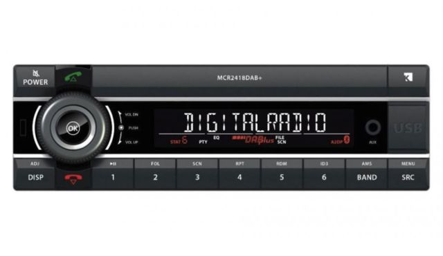 kienzle mcr 2418 dab 24 volt bluetooth autoradio carhifi. Black Bedroom Furniture Sets. Home Design Ideas